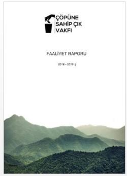 Çöpüne Sahip Çık Vakfı Faaliyet Raporu 2015-2016