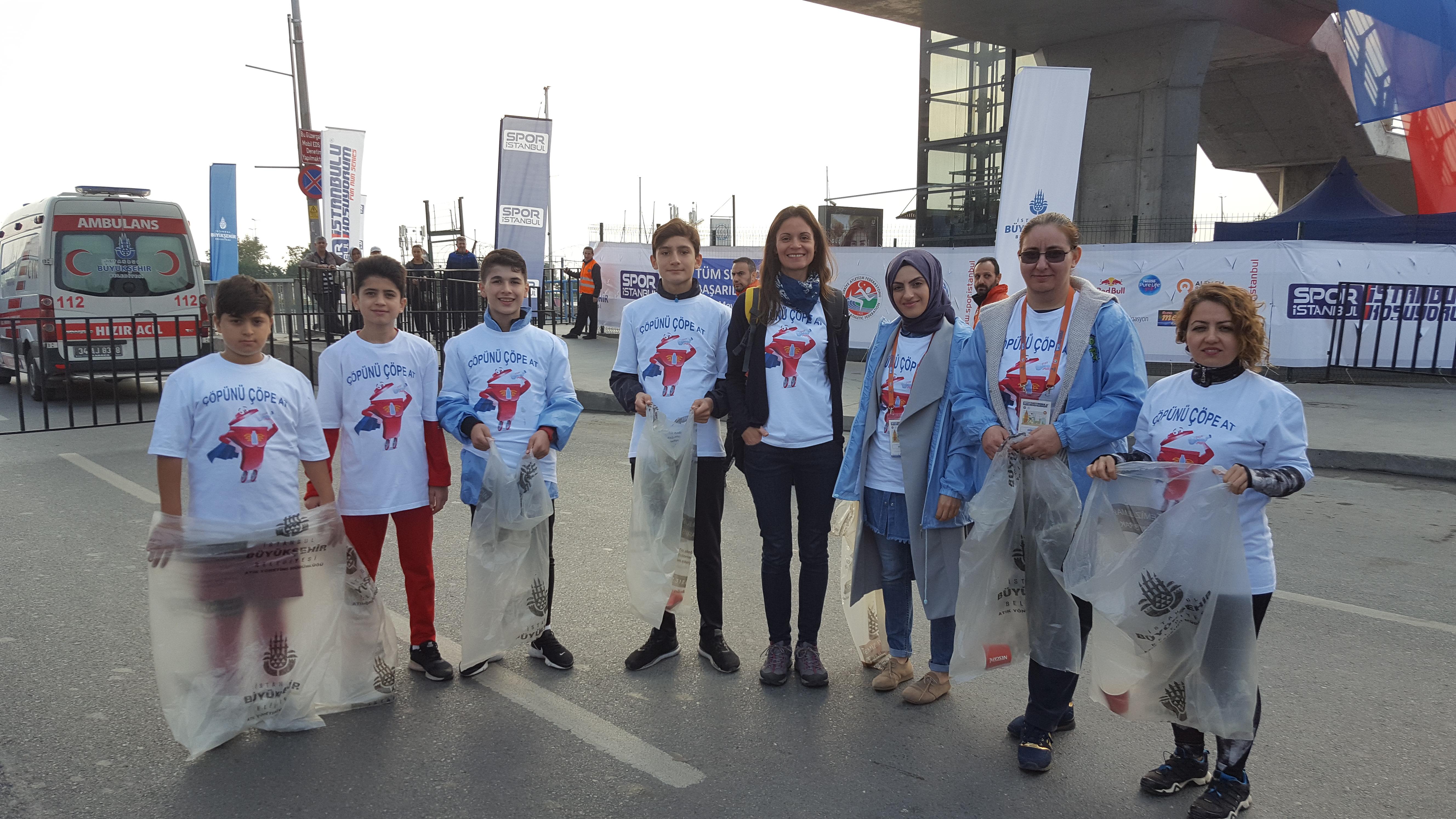 21 Ekim 2018 İstanbul'u Koşuyorum Etkinliği