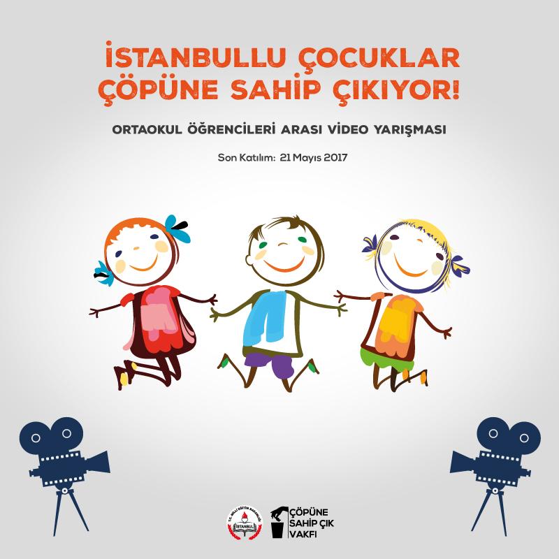 İstanbullu Çocuklar Çöpüne Sahip Çıkıyor Yarışması Birincisi Belli Oldu!